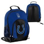 Indianapolis Colts Backpack, Blue & Black